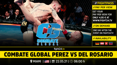 fight24 |COMBATE GLOBAL PEREZ VS DEL ROSARIO