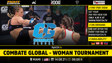 fight24 | COMBATE GLOBAL WOMAN TOURNAMENT