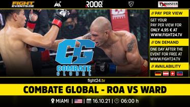 fight24   COMBATE GLOBAL - ROA VS WARD