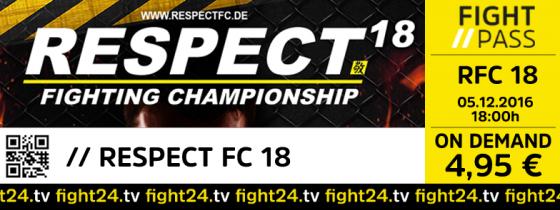 RESPECT FC 18