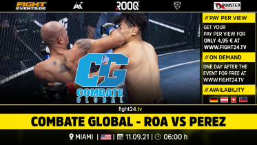 fight24 |COMBATE GLOBAL - ROA VS PEREZ