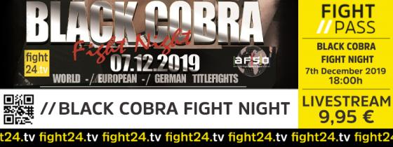 fight24 | BLACK COBRA FIGHT NIGHT