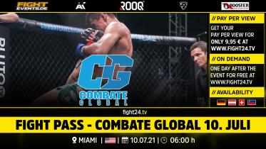 fight24 |COMBATE GLOBAL 10. JULI