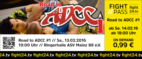 ROAD TO ADCC 1
