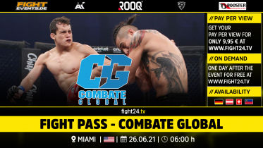 fight24 |COMBATE GLOBAL 26. JUNI