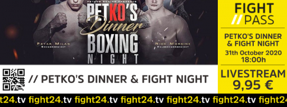 fight 24 | PETKO'S DINNER & FIGHT NIGHT