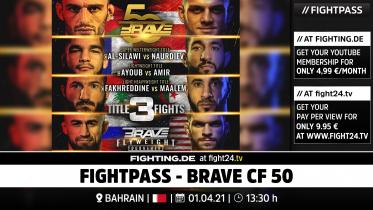 fight24 | BRAVE CF 50