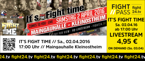 IT'S FIGHT TIME 04/2016