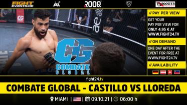 fight24   COMBATE GLOBAL - CASTILLO VS LLOREDA