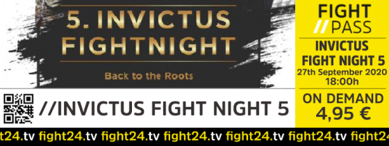 fight 24 | INVICTUS FIGHT NIGHT 5