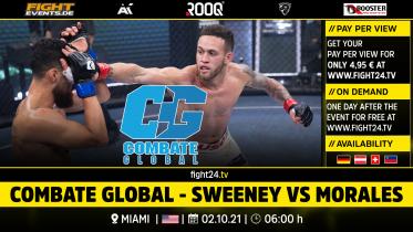 fight24   COMBATE GLOBAL - SWEENEY VS MORALES