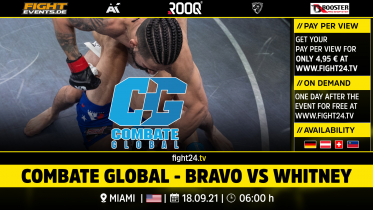 fight24 | COMBATE GLOBAL - BRAVO VS WHITNEY