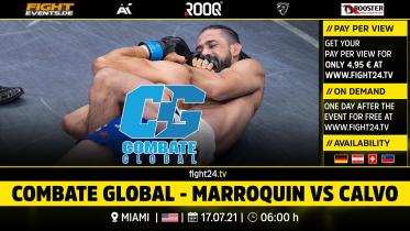 fight24 | COMBATE GLOBAL - MARROQUIN VS CALVO