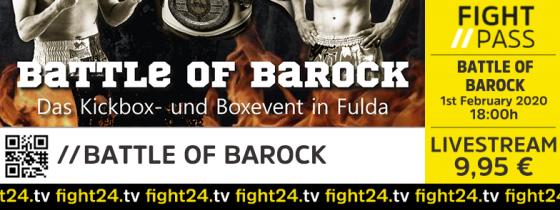 fight24 | 1. BATTLE OF BAROCK