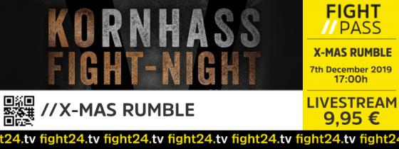 fight24 | X-MAS RUMBLE 2019