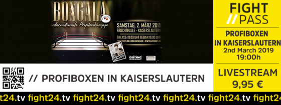 fight24 | Boxen in K'Lautern