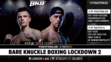 fight24 | BARE KNUCKLE BOXING LOCKDOWN 2