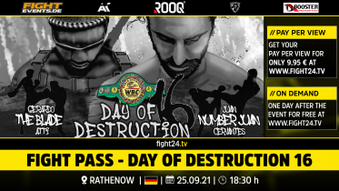 fight24 | DAY OF DESTRUCTION 16