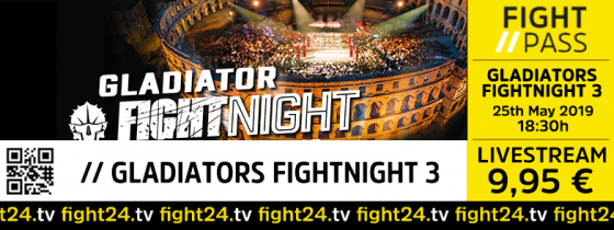 fight 24 | Livestream Gladiators Fightnight 3