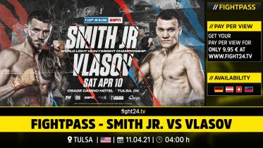 fight24 | SMITH JR. VS VLASOV