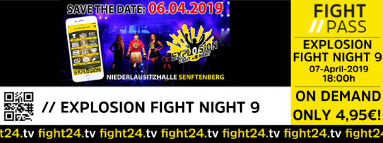 fight24 | EXPLOSION FIGHT NIGHT 2019