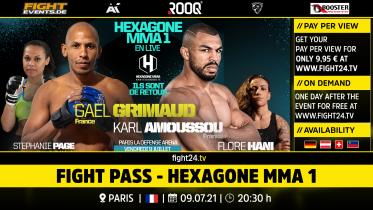fight24 | HEXAGONE MMA 1