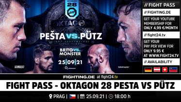 fight24 |OKTAGON 28 - PESTA VS PÜTZ