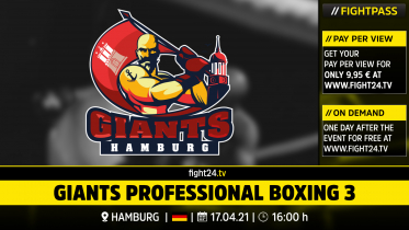 fight24 | GIANTS PROFESSIONAL BOXING 3