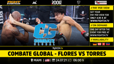 fight24 | COMBATE GLOBAL - AGUILAR VS BARRAZA