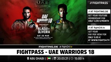 fight24 | UAE WARRIORS 18